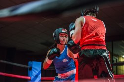 Judgement Night - Fernie Community Centre Boxing Charity Event In Aid of Smiles for Shyanne - 7th February 2015 - Trish Clarke Vs Nina Prichard