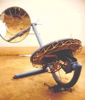 1w-an-early-model-of-the-heliostat-was-buil-in-1985