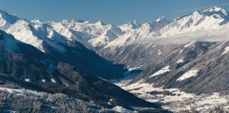 Stubaital Panoramabild