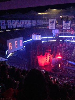 """I got to see Taylor Swift live for her """"RED"""" tour in March 2013!"""