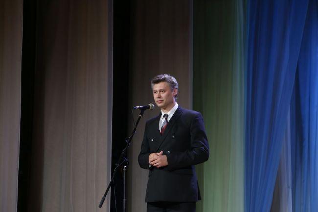 Выступает заместитель председателя Могилёвского горисполкома Владимир ДУДАРЕВ