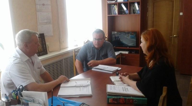 Сергей Кузьмич Алейников на Осиповичском УКП жилищно-коммунального хозяйства