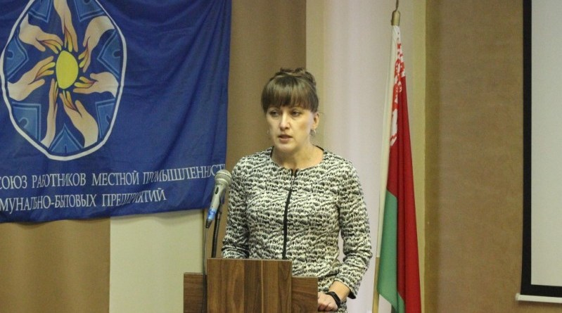Виолетта Петровна КОРЖОВА - председатель первичной профсоюзной организации Могилёвского городского коммунального унитарного дорожно-мостового предприятия