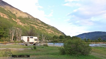 Camping in Tierra del Fuego national park photograph