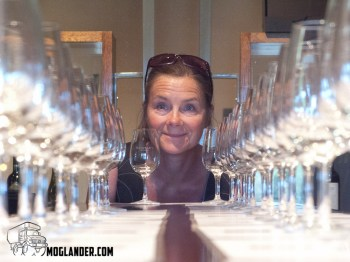 Sarah finished tasting every wine they had in a record 4.5 hours