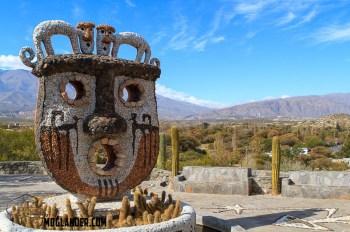 Nice sculptures at Pachamama Museum