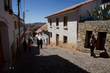 Small streets in Sucre