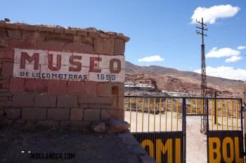 Train Museum at Pulacayo