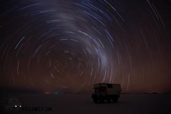 Star circle on the Salar