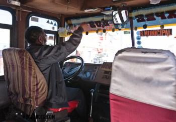 La Paz bus driver