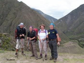 The inca trail 4.