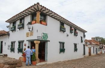 Villa de Leyva street corner