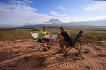Venezuela Travel - Backgammon in the Gran Sabana