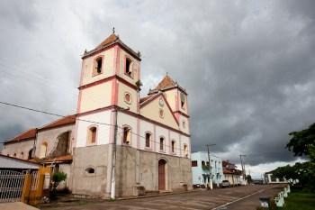 The church in Obidos.