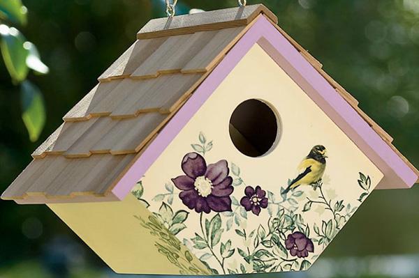 VINO Tappo di Sughero da appendere Bird House Hotel BOX Nidificazione Decorazione Giardino All/'aperto unici