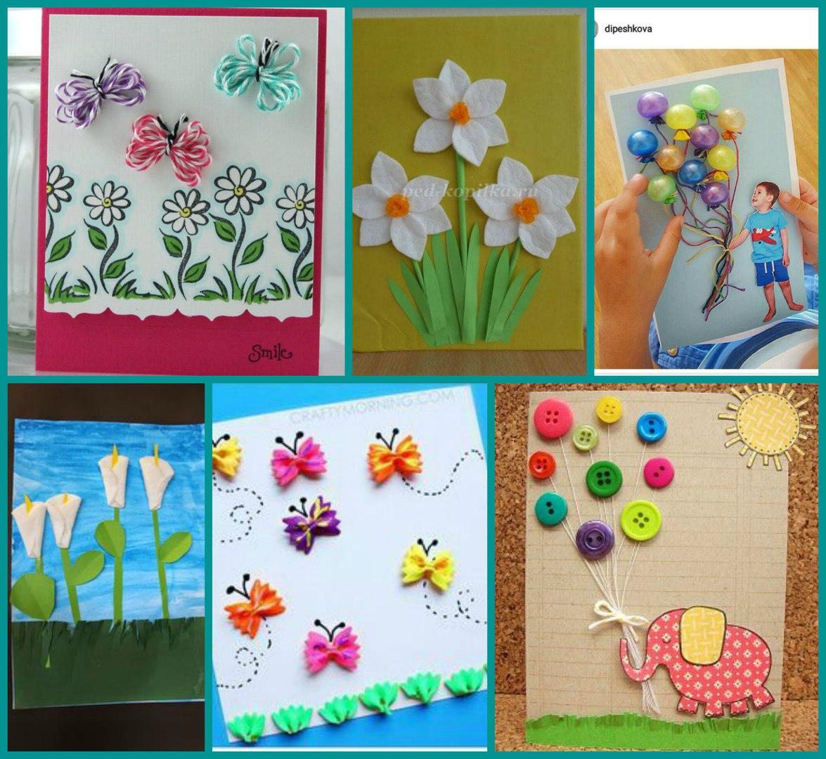 Наталья, открытки бабушке с 8 марта своими руками
