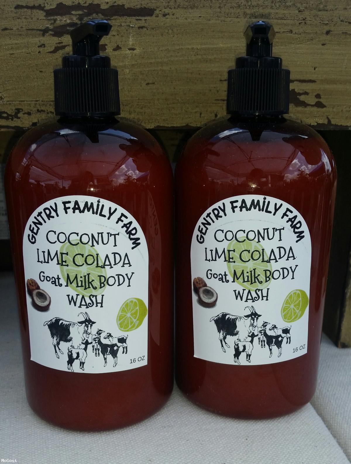 Coconut Lime Colada Goat Milk Liquid Body Wash 16oz / Mogost Auctions