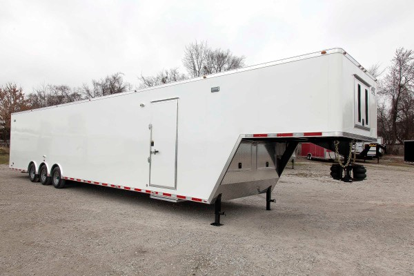 48 Ft Air Ride Gooseneck Cargo Trailer Mo Great Dane
