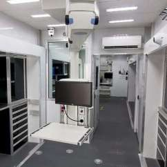 Commercial Kitchen Cabinets Stainless Steel Pendant Light Custom Medical Trailers | Mo Great Dane