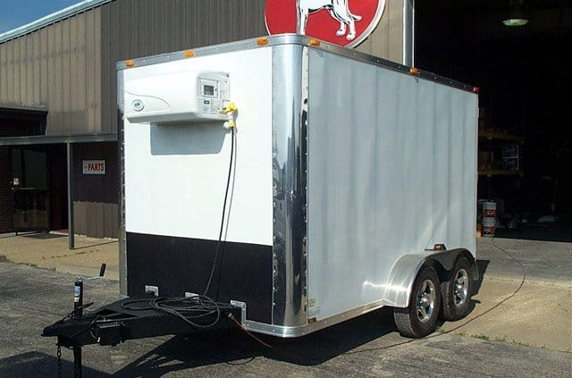 7x12 Refrigerated Cargo Trailers  MO Great Dane trailers