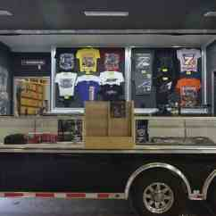 Kitchen Vents Rectangle Table Mobile Marketing Trailers | Custom Mo Great Dane