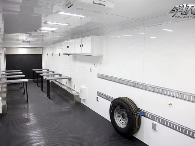 kitchen trailer sideboard mobile classroom training trailers | mo great dane