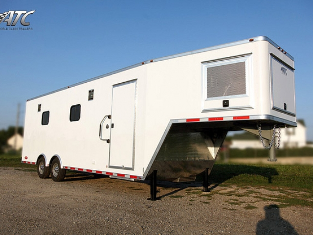 Aluminum Gooseneck Cargo Trailer  MO Great Dane trailers