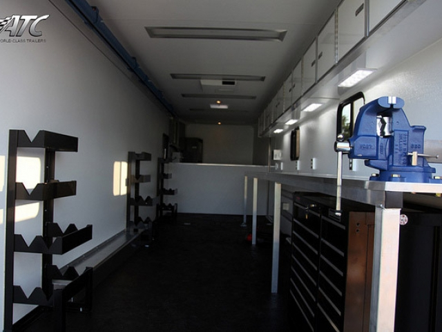 kitchen cabinets sizes weekly hotel rates with kitchens aluminum gooseneck cargo trailer | mo great dane trailers