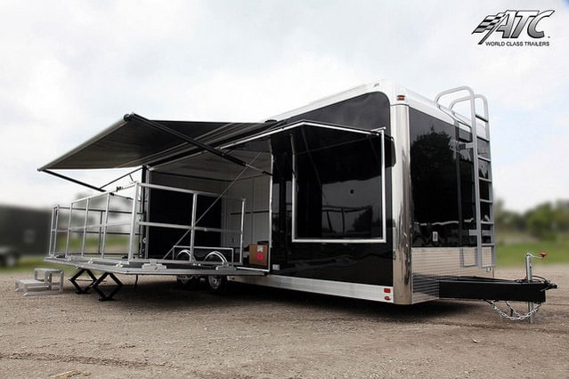 Portable Stage Trailers  Mobile Marketing  MO Great Dane