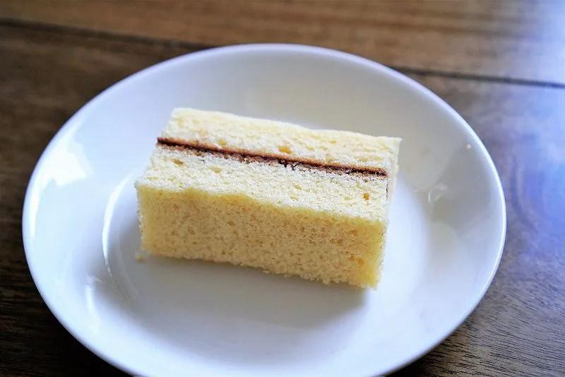 六花亭のマルセイバターケーキの中身