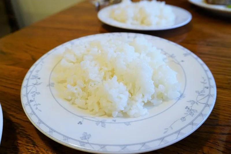 お米は北海道産米「ふっくりんこ」100%