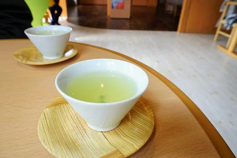 宇治園札幌直営店のお茶