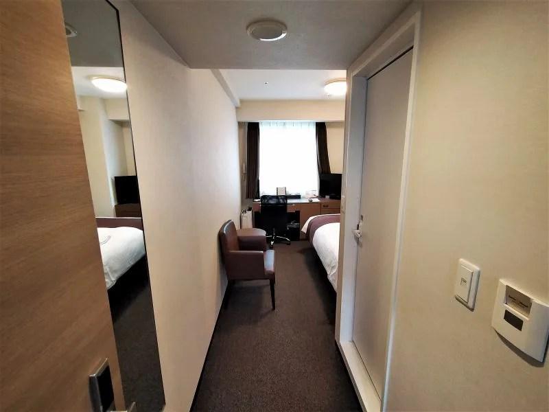 スマイルホテルプレミアム札幌すすきのの室内