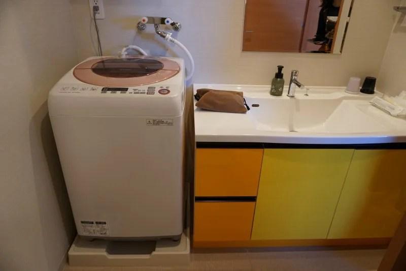 「ラ・ジェント・ステイ札幌大通」の洗濯機