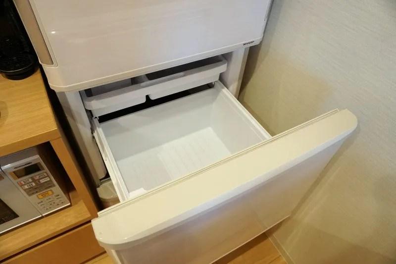 「ラ・ジェント・ステイ札幌大通」の冷蔵庫