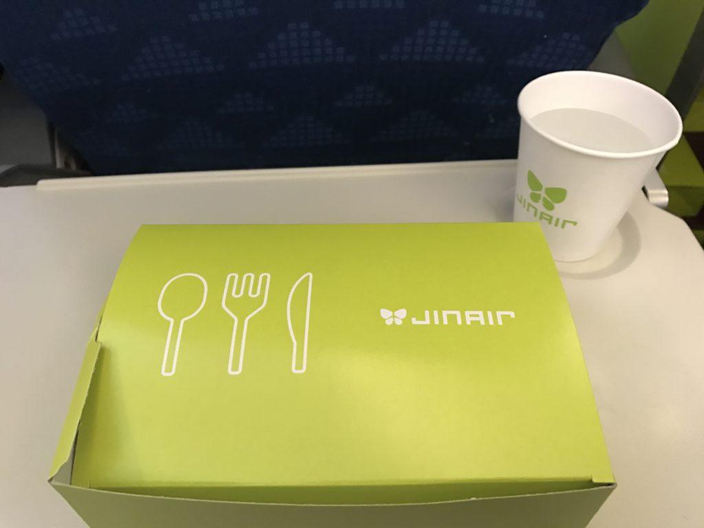 ジンエアー 韓国 機内食