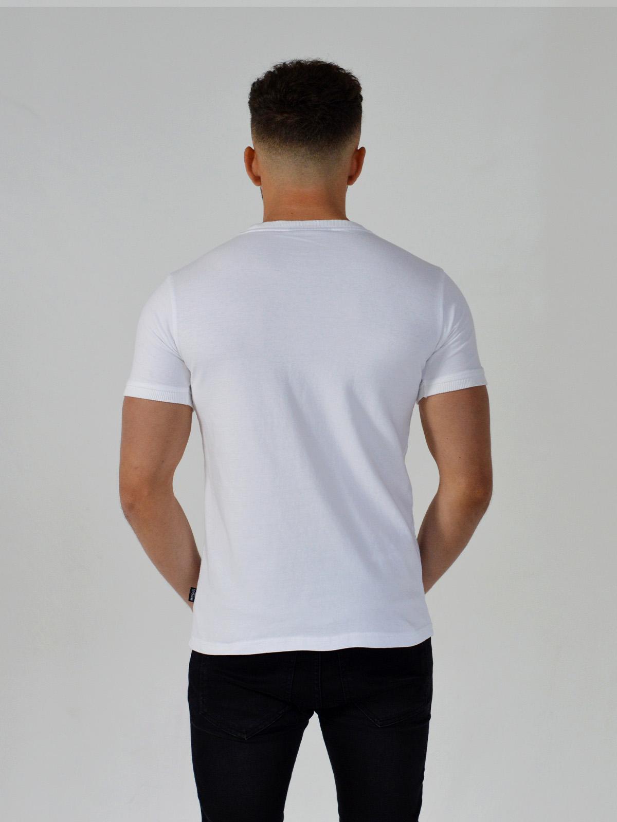 Pipe Panel T-Shirt White - Mogul Club