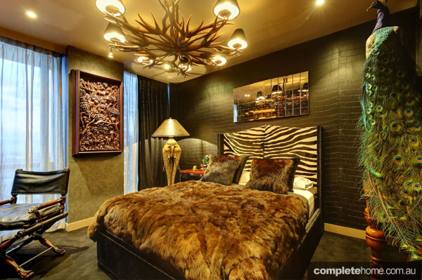 Animal Print Wallpaper For Bedrooms 10 Gorgeous Africa Inspired Bedrooms