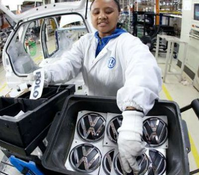 South Africa vehicle production
