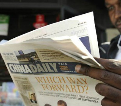 China trying to manage African media