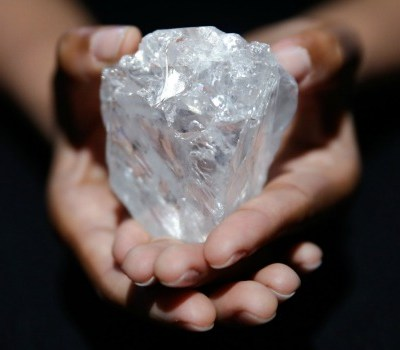 world's biggest uncut diamond