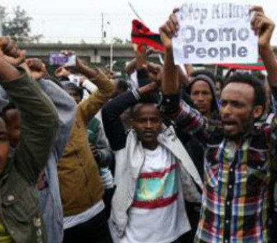 economic impact of Ethiopian response to protests