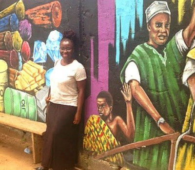 African American traces her roots in Ghana