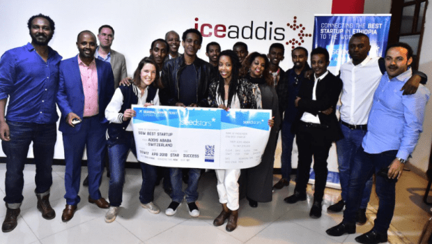LangBot wins the Seedstars Ethiopia event in Addis Ababa. Photo - Twitter