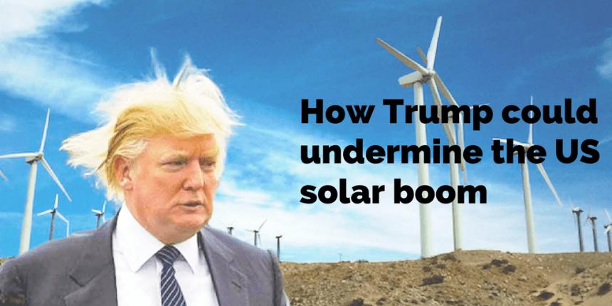 undermine US solar boom
