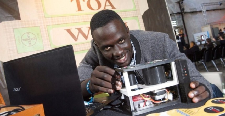 Matibabu is a low-cost reusable device that tests for malaria. Photo - AspirinInnovationAward