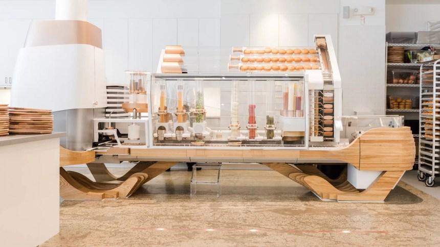 Robot-Made Burgers