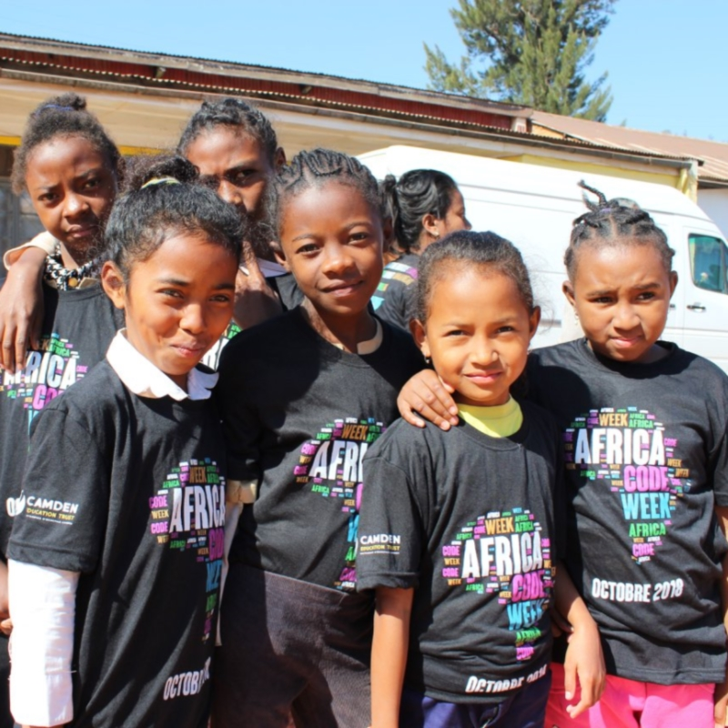 Africa Code Week will see youth in Madagascar and other African countries learn to code. Photo - Facebook