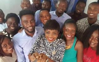 The meQasa team have built and grown an impressive online real estate platform in Ghana. Photo - MEST
