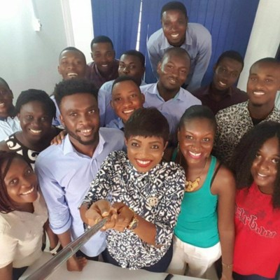 The meQasa team have built and grown an impressive online real estate platform in Ghana. Photo - MEST